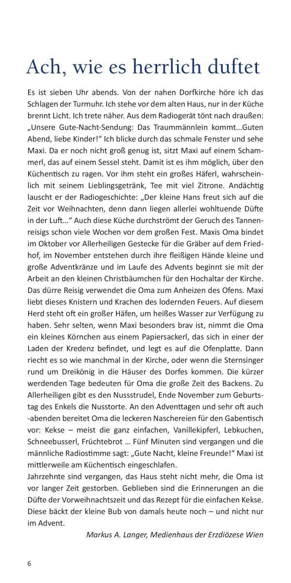 Markus Albert Langer: Ach, wie es herrlich duftet