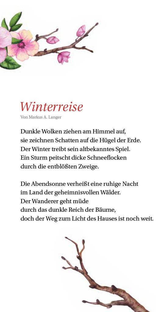 Markus Albert Langer: Winterreise