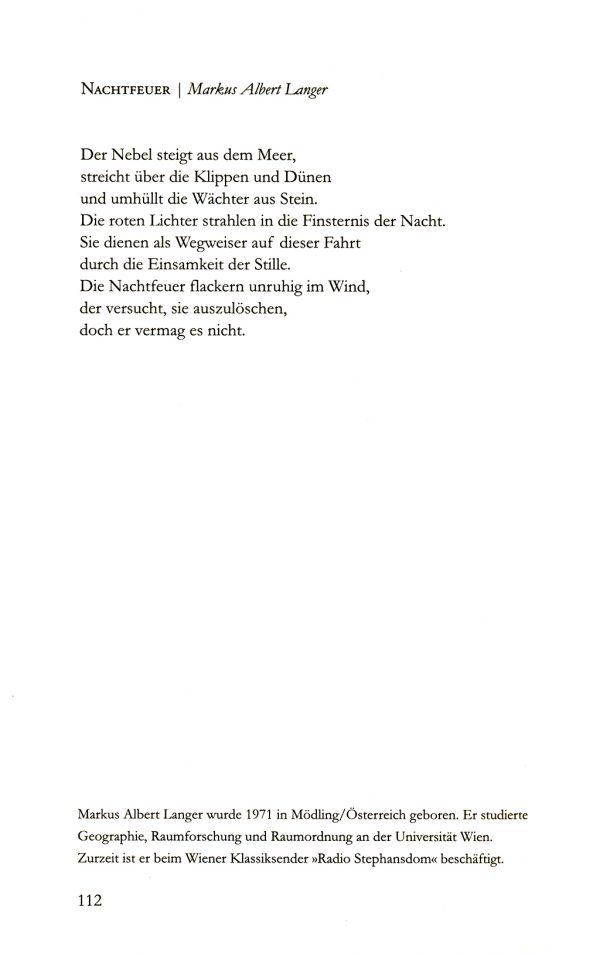 """""""Nachtfeuer"""" von Markus Albert Langer"""